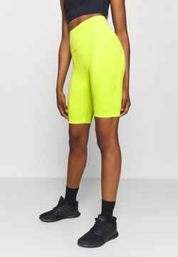 Sweaty Betty - SPIN SEAMLESS LONGLINE WORKOUT SHORT - Tights - lime punch green