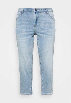 Zizzi - JGIA PLUS - Jeans Skinny Fit - light blue denim