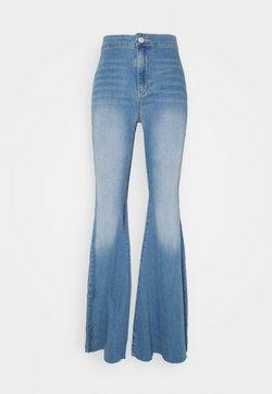 Free People - JUST FLOAT ON FLARE - Jeans a zampa - bermondsey blue