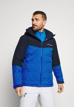 Columbia - WILD CARD JACKET - Veste de ski - bright indigo/collegiate navy