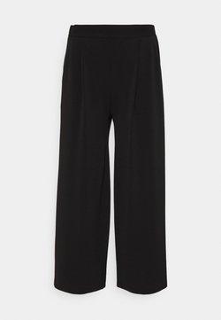 Vero Moda - VMALBERTA CULOTTE PANT - Stoffhose - black