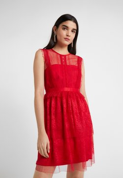 Three Floor - FEARLESS DRESS - Vestido de cóctel - scarlet red