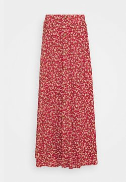 ONLY Tall - ONLPELLA MAXI SKIRT TALL - Jupe trapèze - mineral red