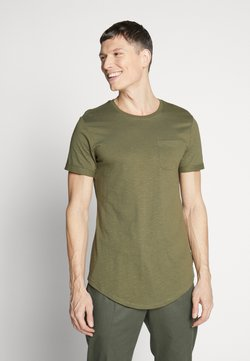 Pier One - Camiseta básica - oliv