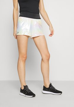 Craft - SHINY SPORT SHORTS - Urheilushortsit - silver