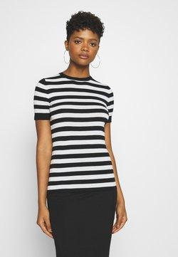 NIKKIE - JOLIE - T-Shirt print - black/offwhite