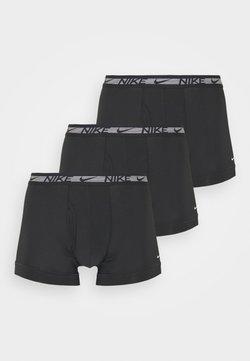Nike Underwear - TRUNK 3PK FLEX MICRO - Panties - black