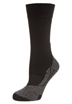 FALKE - TK5 ULTRA LIGHT - Sportsocken - black/ grey