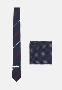 Selected Homme - SLHWARREN TIE GIFTBOX SET - Krawatte - sky captain