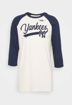 Nike Performance - MLB NEW YORK YANKEES COOPERSTOWN SCRIPT - Artykuły klubowe - flat opal/midnight navy