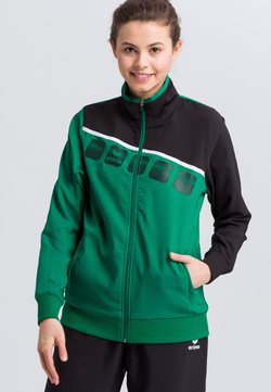 Erima - Laufjacke - green/black