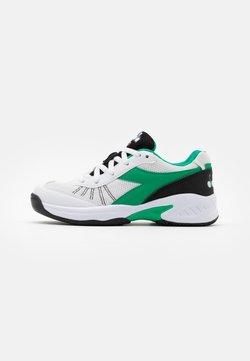 Diadora - S. CHALLENGE 3 JR UNISEX - Multicourt Tennisschuh - white/holly green/black