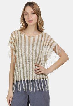 usha - T-Shirt print - wollweiss