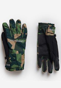 Superdry - Fingerhandschuh - camo aop