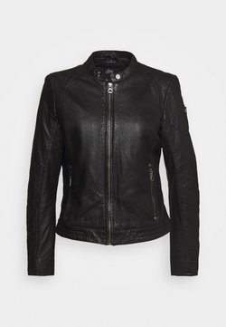 Gipsy - GGNIDEL LAMAS - Leren jas - black