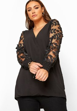 Yours Clothing - Bluse - black