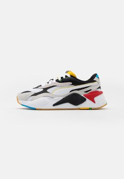 Puma - RS-X³ WH JR - Sneakers laag - white/black