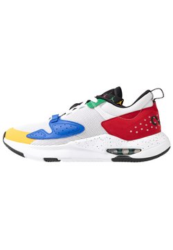 Jordan - AIR CADENCE - Sneaker low - white/game royal/black/gym red/pine green