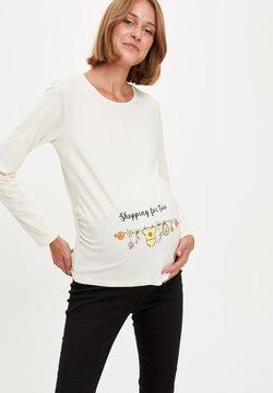 DeFacto - Camiseta de manga larga - beige