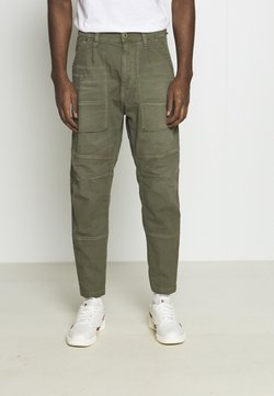 G-Star - FATIGUE RELAXED TAPERED - Cargohose - antic asfalt