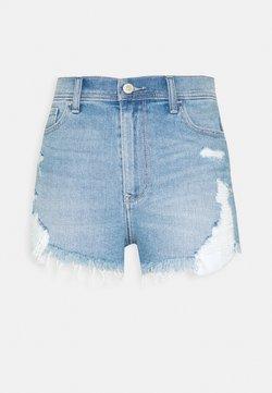 Hollister Co. - Jeans Shorts - light-blue denim