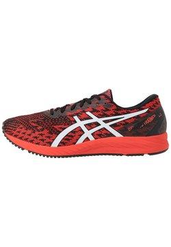 ASICS - GEL DS TRAINER 25 - Sneakersy niskie - fiery red/white