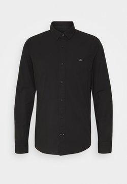 Calvin Klein - SLIM FIT - Camicia elegante - black
