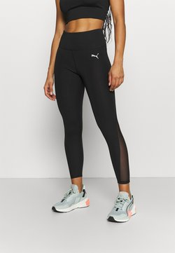 Puma - EVOSTRIPE HIGH WAIST - Tights - black
