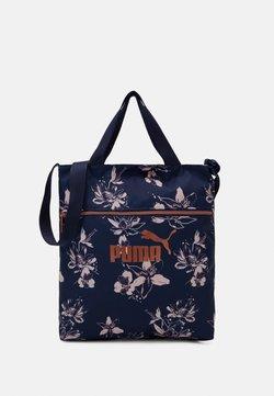 Puma - CORE SHOPPER - Shopping bags - peacoat/rose gold