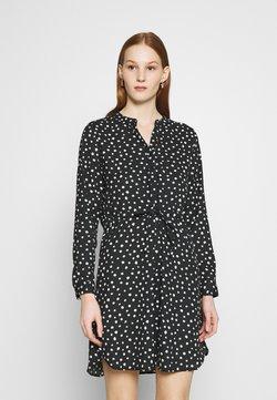 ONLY - Blusenkleid - black/dots