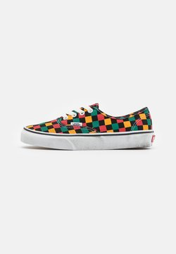 Vans - AUTHENTIC - Sneakers laag - black/multicolor