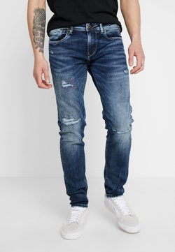 Pepe Jeans - HATCH - Slim fit jeans - dark used