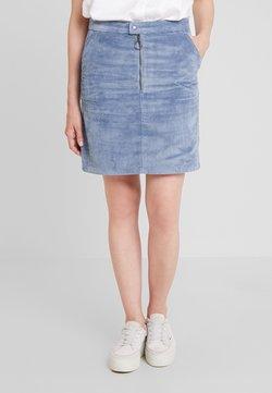 edc by Esprit - SKIRT - A-Linien-Rock - grey blue
