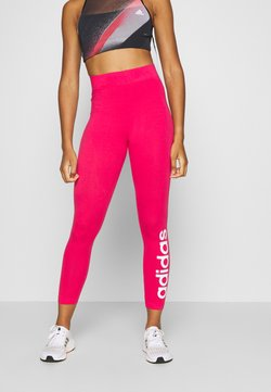 adidas Performance - LIN - Tights - power pink/white
