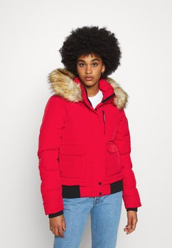 Superdry - EVEREST - Winterjacke - high risk red