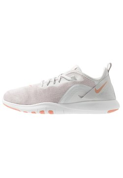 Nike Performance - FLEX TRAINER 9 - Trainings-/Fitnessschuh - vast grey/pink quartz/echo pink/white