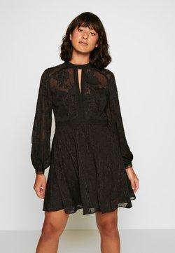 Forever New Petite - SALLIE EMBROIDERED DRESS - Cocktailkjoler / festkjoler - black