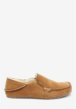 Next - SIGNATURE MOCCASIN SLIPPERS - Mokassin - brown