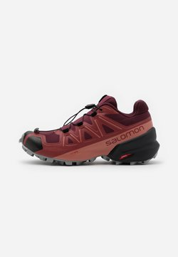 Salomon - SPEEDCROSS 5 - Zapatillas de trail running - apple butter/wine tasting/alloy