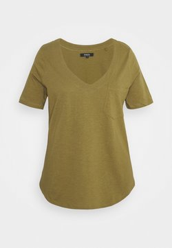 Simply Be - UTILITY - T-Shirt print - olive