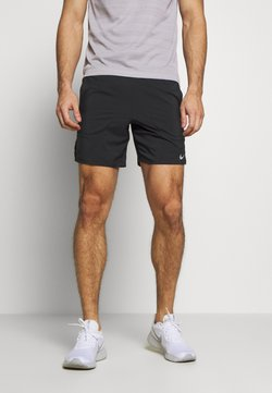 Nike Performance - FLEX STRIDE SHORT - kurze Sporthose - black/reflective silver