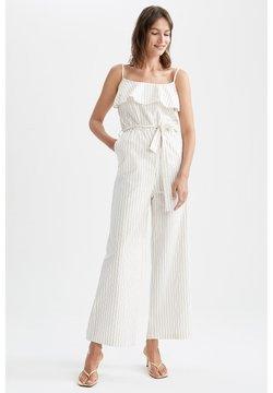 DeFacto - Jumpsuit - white
