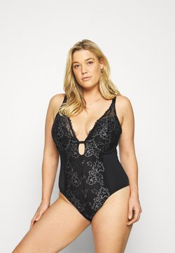 City Chic - CARMEN - Body - black
