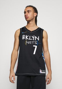 Nike Performance - NBA BROOKLYN NETS CITY EDITION SWINGMAN JERSEY - Equipación de clubes - black