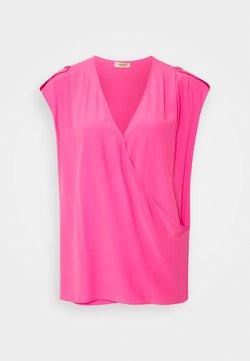LIU JO - INCROCIATO - T-shirt con stampa - bubble rose