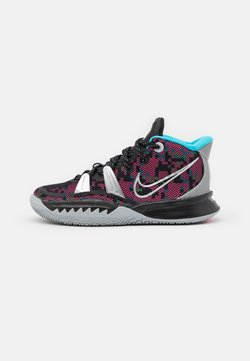 Nike Performance - KYRIE 7 UNISEX - Koripallokengät - black/metallic silver/light smoke grey
