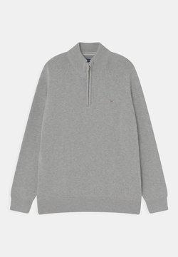 GANT - CASUAL HALF ZIP - Jersey de punto - light grey melange