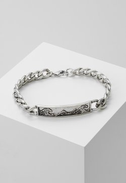 Classics77 - GREAT WAVE CHAIN BRACELET - Armband - silver-coloured