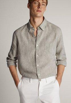 Massimo Dutti - Koszula - light grey