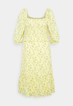 ONLY Tall - ONLPELLA SMOCK DRESS - Jerseykleid - sunshine